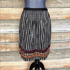 Edme&Esyllte Anthropologie Beribboned Rings Skirt
